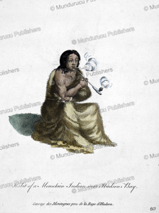 mountain indian near hudson's bay, alaska, 1757