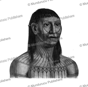 Mundurucu´ warrior with protective tattoos, Spix and Martius, 1823 | Photos and Images | Travel