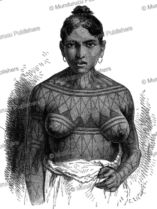 Mundurucu´ woman, after Dr. Gustavo, 1880 | Photos and Images | Travel