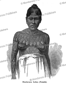 Old Mundurucu´ woman, after Dr. Gustavo, 1880 | Photos and Images | Travel