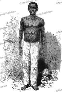 Mundurucu´ man, after Dr. Gustavo, 1880 | Photos and Images | Travel