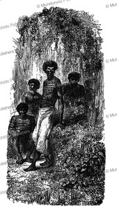 Mundurucu´ youngsters, E´douard Riou, 1850 | Photos and Images | Travel
