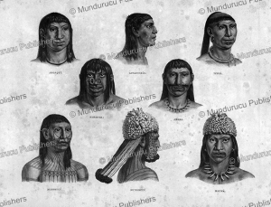 Different savages of Brazil, Mundurucu´, Spix and Martius, 1823 | Photos and Images | Travel