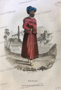 a benian or indian merchant of persia, frederic shoberl, 1822