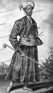 Black slave in Persia, Cornelis de Bruins, 1711 | Photos and Images | Travel