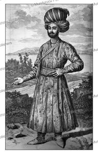 Persian man, Cornelis de Bruins, 1711 | Photos and Images | Travel
