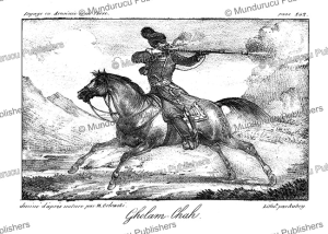 ghulam or persian soldier, m. orlowski, 1821