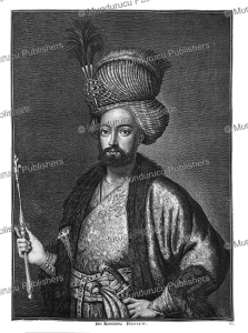 king husayn, sultan of persia from 1694 to 1722, cornelis de bruins, 1711