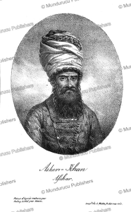 askar khan afshar, ambassador of persia in paris, aubry, 1821
