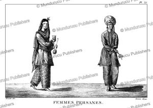 persian women, meunier, 1807