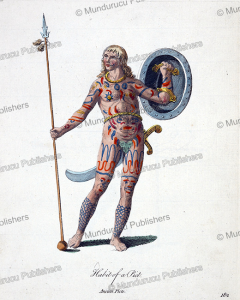 Pict man of Roman times with tattoos, Britain, Gijsbert van Veen, 1760 | Photos and Images | Travel