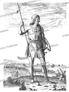 pict man, theodoor de bry, 1585