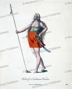femme caledonienne (pict), gijsbert van veen, 1760