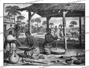 natives of ceylon (sri lanka), philippus baldaeus, 1672