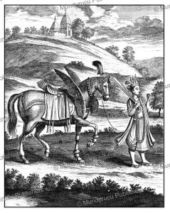 Kalki, the Nighty Warrior, the tenth avatar of the Hindu god Vishnu, Ceylon (Sri Lanka), Philippus Baldaeus, 1672   Photos and Images   Travel