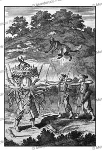 rama, the seventh avatar of vishnu kills the demon-king ravana, ceylon (sri lanka), philippus baldaeus, 1672