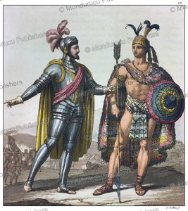 montezuma 2 and cortes, gallo gallina, 1816