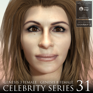 Celebrity Series 31 for Genesis 3 and Genesis 8 Female | Software | Design