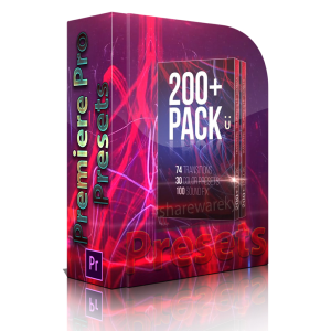 200 pack u presets for adobe premiere
