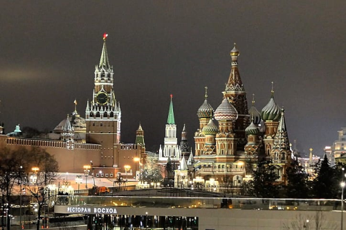 First Additional product image for - Moscow Saint Basil Cathedral Red Square