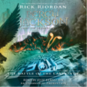 THE BATTLE OF THE LABYRINTH By Rick Riordan (2008) (LISTENING LIBRARY) Unabridged 320 Kbps MP3 AUDIO BOOK | Audio Books | Business and Money