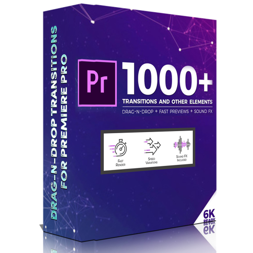 First Additional product image for - 1000 Transition for Adobe Premiere