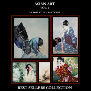 Asian Art Best-Sellers Collection by Cross Stitch Collectibles | Crafting | Cross-Stitch | Other