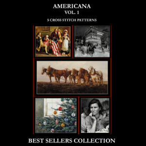Americana Best-Sellers Collection by Cross Stitch Collectibles | Crafting | Cross-Stitch | Other