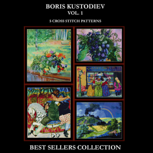 Kustodiev Best-Sellers Collection by Cross Stitch Collectibles | Crafting | Cross-Stitch | Other