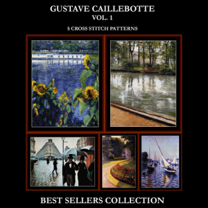 Caillebotte Best-Sellers Collection by Cross Stitch Collectibles | Crafting | Cross-Stitch | Other