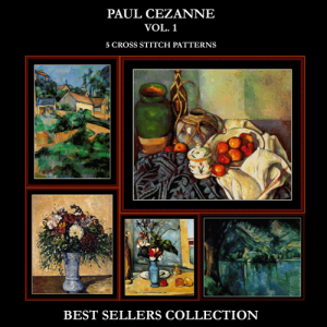 Cezanne Best-Sellers Collection by Cross Stitch Collectibles | Crafting | Cross-Stitch | Other