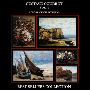 Courbet Best-Sellers Collection by Cross Stitch Collectibles | Crafting | Cross-Stitch | Other