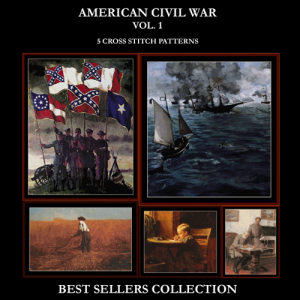 Civil War Best-Sellers Collection by Cross Stitch Collectibles | Crafting | Cross-Stitch | Other