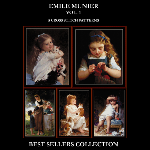 Munier Best-Sellers Collection by Cross Stitch Collectibles | Crafting | Cross-Stitch | Other