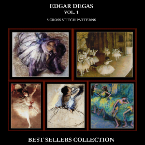 Degas Best-Sellers Collection by Cross Stitch Collectibles | Crafting | Cross-Stitch | Other