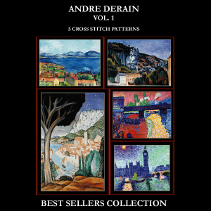 derain best-sellers collection by cross stitch collectibles