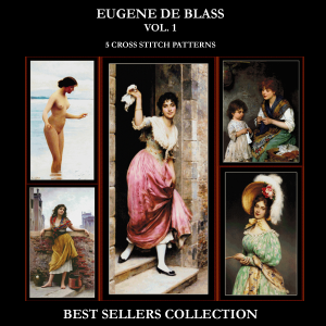 de Blass Best-Sellers Collection by Cross Stitch Collectibles | Crafting | Cross-Stitch | Other