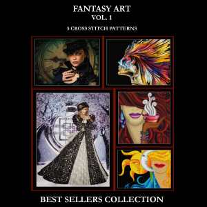 Fantasy Vol. 1 Best-Sellers Collection by Cross Stitch Collectibles | Crafting | Cross-Stitch | Other