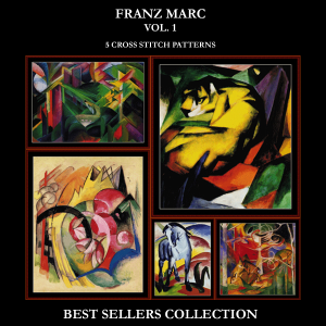franz marc best-sellers collection by cross stitch collectibles