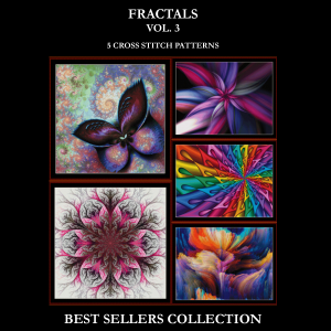 Fractals Vol. 3 Best-Sellers Collection by Cross Stitch Collectibles | Crafting | Cross-Stitch | Other
