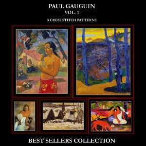 gauguin best-sellers collection by cross stitch collectibles
