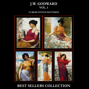 Godward Best-Sellers Collection by Cross Stitch Collectibles | Crafting | Cross-Stitch | Other