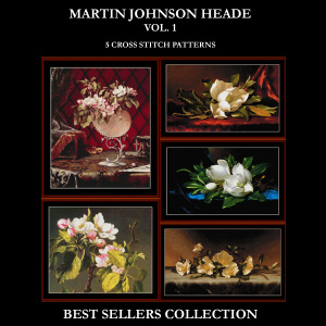 heade best-sellers collection by cross stitch collectibles
