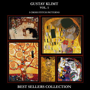 Gustav Klimt Best-Sellers Collection by Cross Stitch Collectibles | Crafting | Cross-Stitch | Other