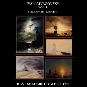 aivazovsky best-sellers collection by cross stitch collectibles