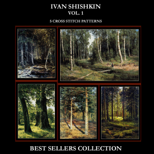 Ivan Shishkin Best-Sellers Collection by Cross Stitch Collectibles | Crafting | Cross-Stitch | Other