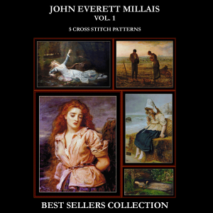 J.E. Millais Best-Sellers Collection by Cross Stitch Collectibles | Crafting | Cross-Stitch | Other