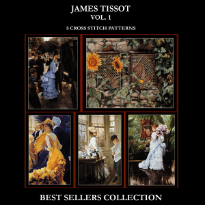 J.J. Tissot Best-Sellers Collection by Cross Stitch Collectibles | Crafting | Cross-Stitch | Other