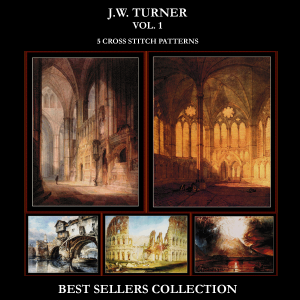 J.W. Turner Best-Sellers Collection by Cross Stitch Collectibles | Crafting | Cross-Stitch | Other