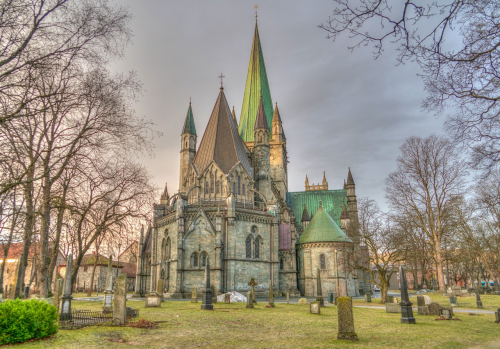 First Additional product image for - Nidaros cathedral